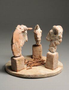 Djurskulpturer (Terracotta)