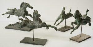 Flygande Hästar (Brons)