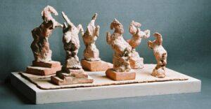 Hästparad (Terracotta)