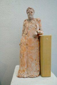 Selma Lagerlöf (Terracotta)