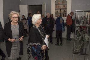Marylyn Hamilton Gierow och Margareth Anderberg vid invigningen (5)